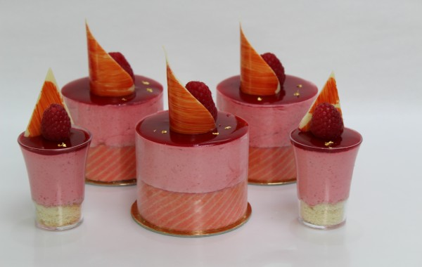 Raspberry Mousse<br>Patisserie
