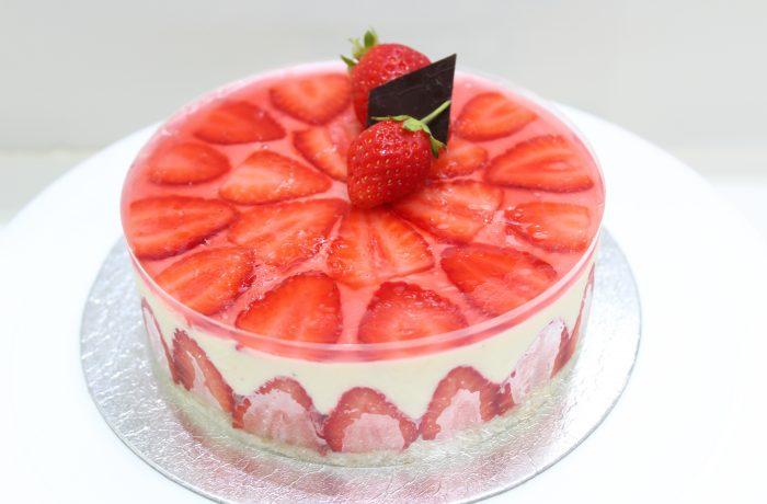 Fraisier<br>Strawberry Patisserie